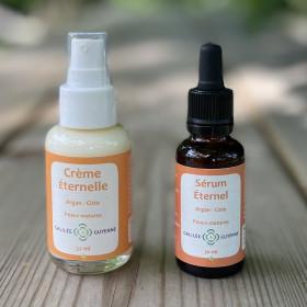 Duo Éternel Sérum et Crème anti-âge - Argan Ciste - 30 et 50 ml