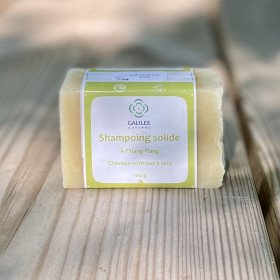 Shampoing Solide Cheveux Normaux à secs à l'ylang-ylang - 100 gr