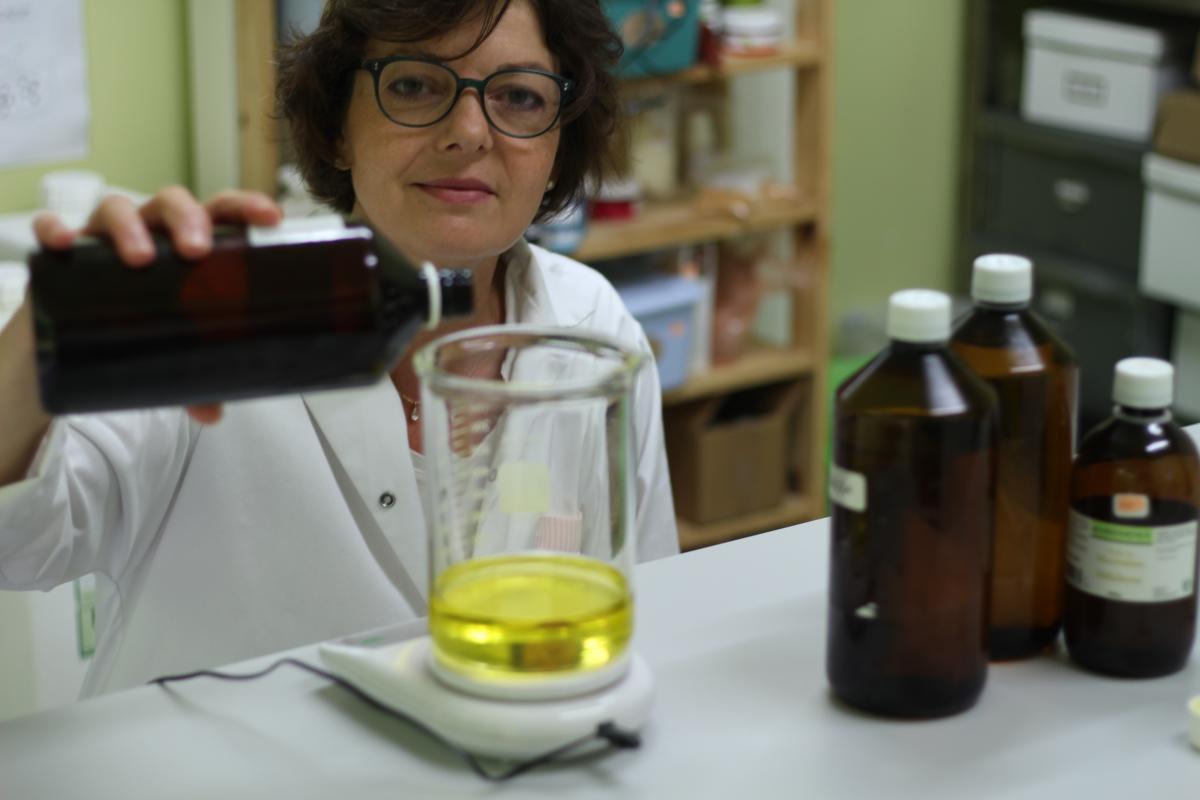 Portrait de Violaine Peruch sans son laboratoire